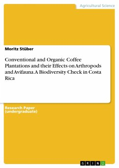 Conventional and Organic Coffee Plantations and...
