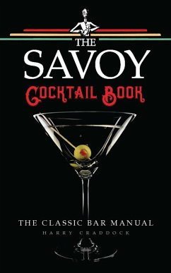 The Savoy Cocktail Book (eBook, ePUB)