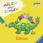 Malen nach Zahlen junior: Dinos (Mängelexemplar)