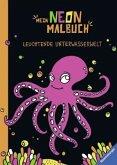Mein Neon-Malbuch: Leuchtende Unterwasserwelt (Mängelexemplar)