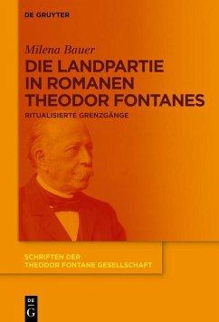 Die Landpartie in Romanen Theodor Fontanes (eBook, ePUB) - Bauer, Milena