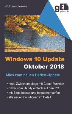 Windows 10 Update - Oktober 2018