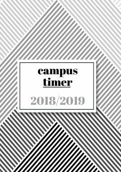 Campustimer 2018-2019: Semesterplaner & Semesterkalender A5