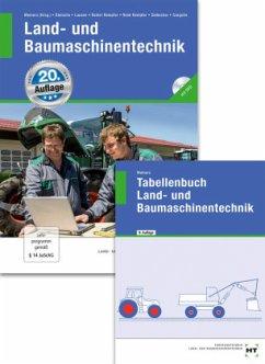Land- und Baumaschinentechnik, m. DVD-ROM; Tabellenbuch Land- und Baumaschinentechnik, 2 Bde.