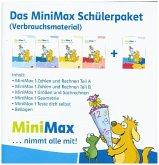 MiniMax 1. Schülerpaket (4 Themenhefte: Zahlen und Rechnen A, Zahlen und Rechnen B, Größen und Sachrechnen, Geometrie) - Verbrauchsmaterial Klasse 1