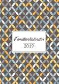 Familienkalender 2019 mit 6 Spalten