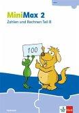 MiniMax 2. Themenheft Zahlen und Rechnen B - Verbrauchsmaterial Klasse 2
