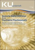 Kodierrichtlinien für die Psychiatrie/Psychosomatik 2019