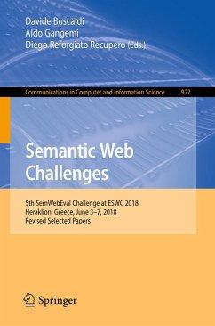 Semantic Web Challenges (eBook, PDF)