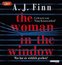 The Woman in the Window - Was hat sie wirklich gesehen?, 2 MP3-CD (Mängelexemplar) - Finn, A. J.