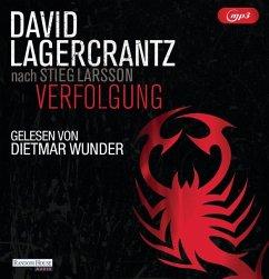 Verfolgung / Millennium Bd.5 (2 MP3-CDs) (Mängelexemplar) - Lagercrantz, David