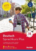 Sprachkurs Plus Deutsch B1, Englische Ausgabe. Buch mit Audios und Videos online, App, Online-Übungen und Begleitbuch