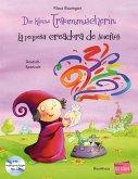 Die kleine Traummischerin. Kinderbuch Deutsch-Spanisch mit Audio-CD