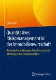 Quantitatives Risikomanagement in der Immobilienwirtschaft (eBook, PDF)
