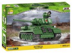 Cobi 2476A - T34/85 M 1944 sowjetischer Panzer, 400 Teile