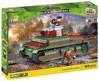 Cobi 2493 - Small Army, Somua S-35 Char 135 S, Panzer, Konstruktionsspielzeug, Bausatz, 450 Teile