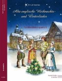 Alte englische Weihnachts- und Winterlieder, bearbeitet für Blockflötenquartett, Partitur und Stimmen