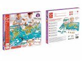 Puzzle und Spiel 2 in 1 Weltreise