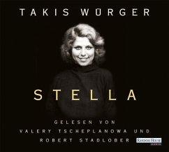 Stella, 4 Audio-CDs - Würger, Takis