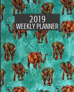 2019 Weekly Planner: 52 Week Journal Organizer Calendar Schedule Appointment Agenda Notebook (Vol 15) - Creatives Journals, Desired