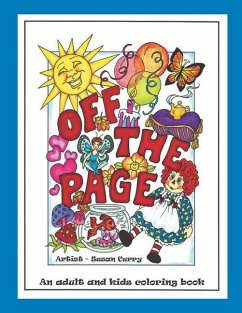 Off the Page: An Adult and Kids Coloring Book