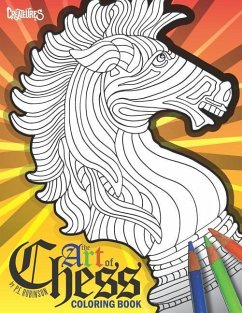 The Art of Chess Coloring Book: De-Stress with ...