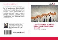 Los contratos públicos y las comunidades de bienes