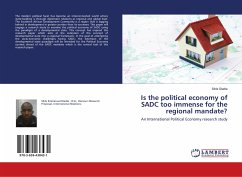 Is the political economy of SADC too immense for the regional mandate? - Dladla, Sihle