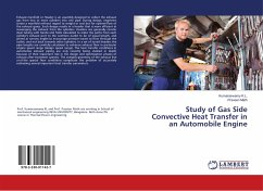 Study of Gas Side Convective Heat Transfer in an Automobile Engine