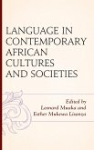 Language in Contemporary African Cultures and Societies