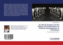 A Critical Analysis of the Effects of Factionalism to Political Development in Zimbabwe