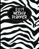 2019 Weekly Planner: 52 Week Journal Organizer Calendar Schedule Appointment Agenda Notebook (Vol 12)