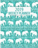 2019 Weekly Planner: 52 Week Journal Organizer Calendar Schedule Appointment Agenda Notebook (Vol 14)