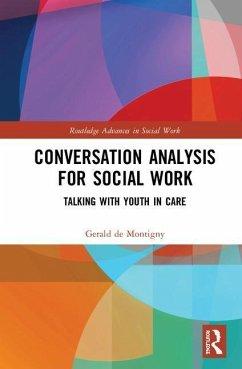 Conversation Analysis for Social Work - de Montigny, Gerald (Carleton University, Canada)