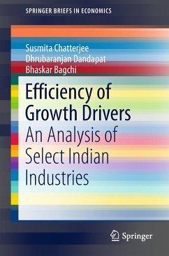 Efficiency of Growth Drivers (eBook, PDF) - Chatterjee, Susmita; Dandapat, Dhrubaranjan; Bagchi, Bhaskar