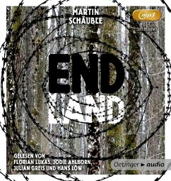 Endland, 1 MP3-CD (Mängelexemplar) - Schäuble, Martin
