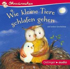Wie kleine Tiere schlafen gehen und andere Geschichten, 1 Audio-CD (Mängelexemplar) - Lütje, Susanne; Maar, Paul; Brügge, Anne-Kristin