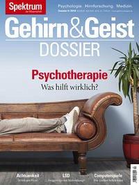 Gehirn&Geist Dossier - Psychotherapie