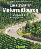 Die schönsten Motorradtouren in Deutschland (Mängelexemplar)