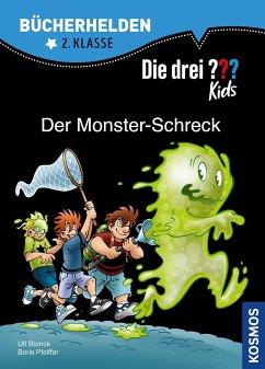 Die drei ??? Kids, Bücherhelden, Der Monster-Schreck - Pfeiffer, Boris; Blanck, Ulf