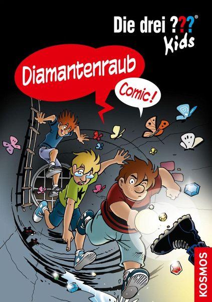 Buch-Reihe Die drei Fragezeichen-Kids Comic