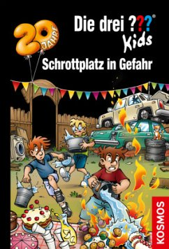 Schrottplatz in Gefahr / Die drei Fragezeichen-Kids Bd.78 - Blanck, Ulf