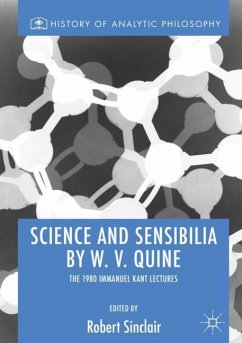 Science and Sensibilia by W. V. Quine
