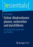 Online-Moderationen planen, vorbereiten und durchführen (eBook, PDF)