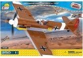 Cobi 5526 - Small Army, Messerschmitt BF-109 F-4 Trop, einmotoriges Jagdflugzeug, Konstruktionsspielzeug, Bausatz, 250 Teile
