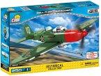 COBI Historical Collection 5547 - Bell P-39Q Airacobra, Kampfflugzeug, Konstruktionsspielzeug, Bausatz, 250 Teile