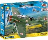 Cobi Small Army 5522 - PZL P-23B Karas, Bomber, Konstruktionsspielzeug, Bausatz, 280 Teile