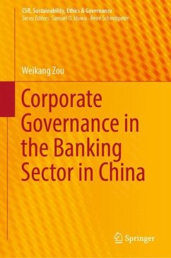 Corporate Governance in the Banking Sector in China - Zou, Weikang