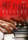 Die 40 besten Pop Piano Ballads, m. 2 Audio-CDs + Midifiles, USB-Stick