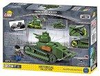 Cobi 2973 - Renault FT-17, französischer Panzer, Konstruktionsspielzeug, Bausatz, 375 Teile